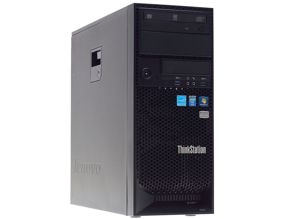 Lenovo ThinkStation E31 Tower (Intel Xeon E 3-1225 V 2/4Gb/500 Gb HDD)